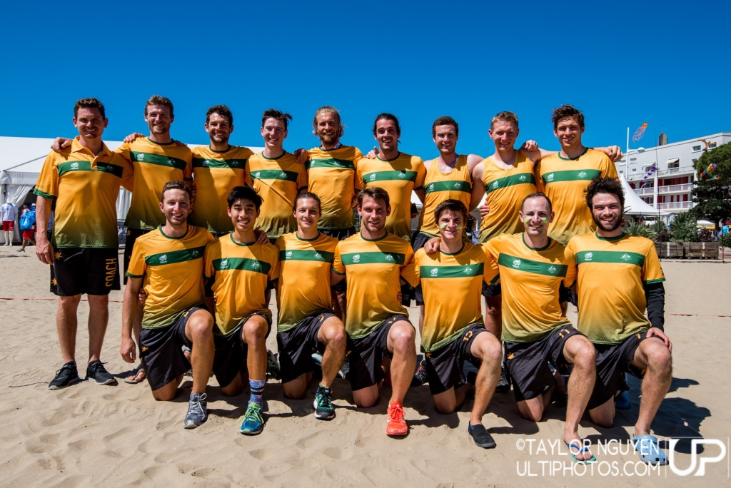 Team picture of Australia Men