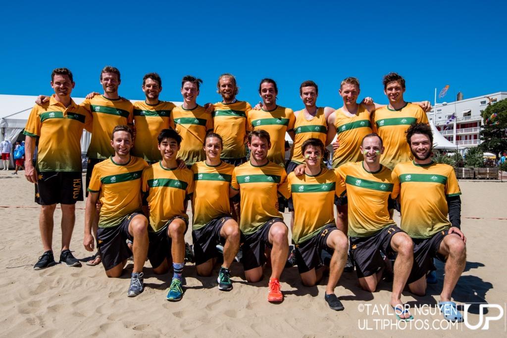 Team picture of Australia Men