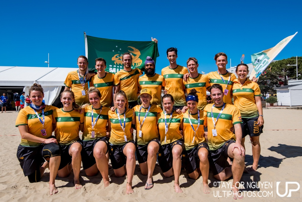 Team picture of Australia Mixed
