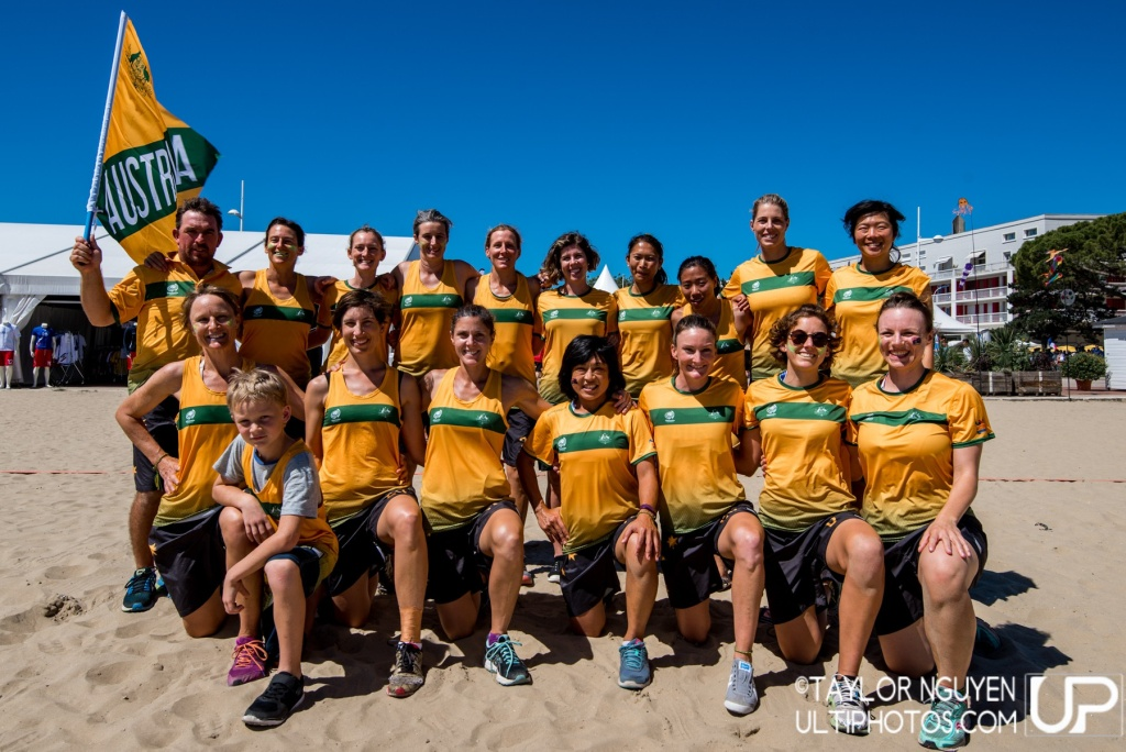 Team picture of Australia Master Women