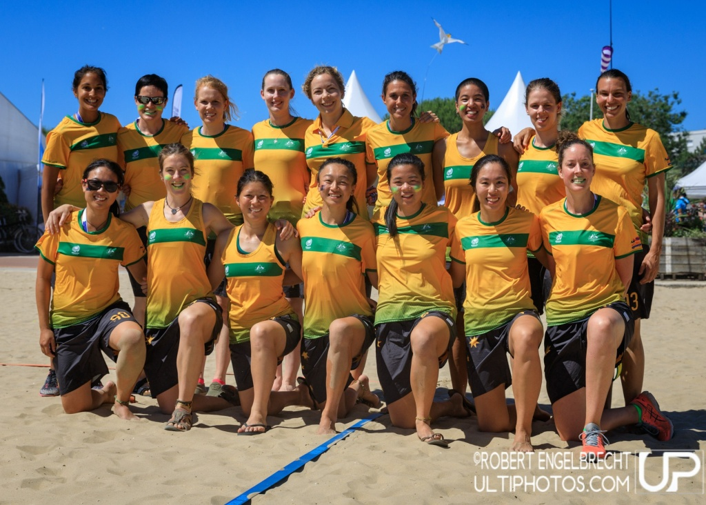 Team picture of Australia Women