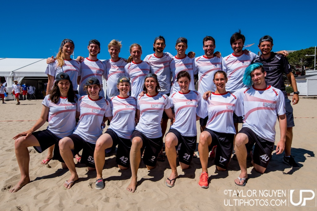 Team picture of Austria Mixed