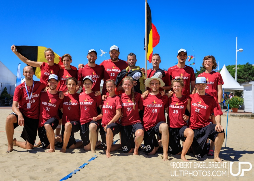 Team picture of Belgium Mixed