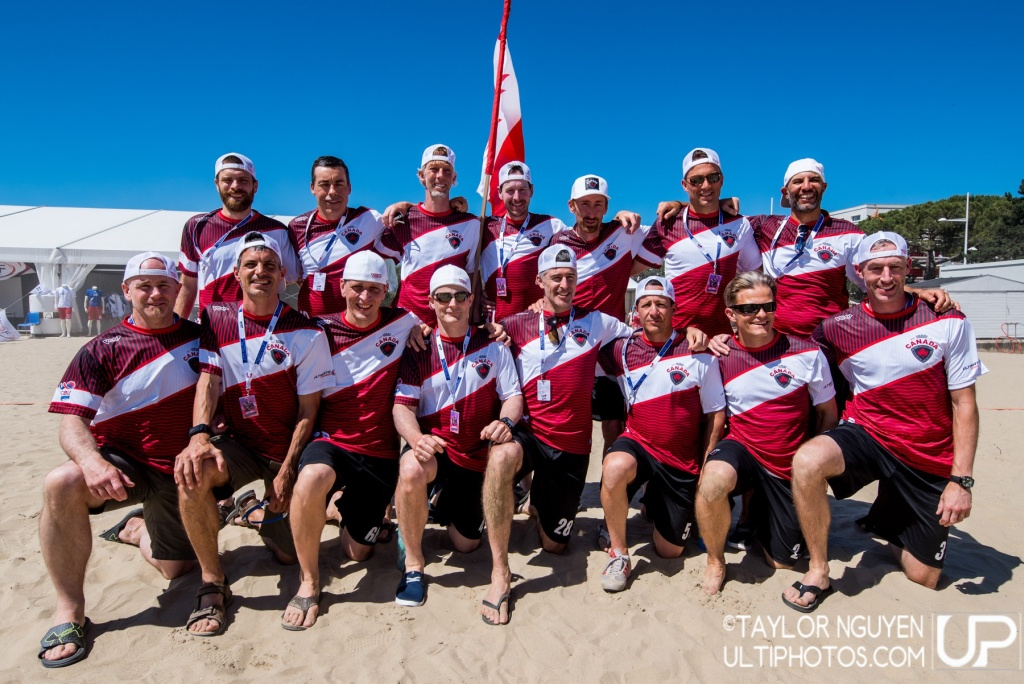Team picture of Canada GrandMaster Men