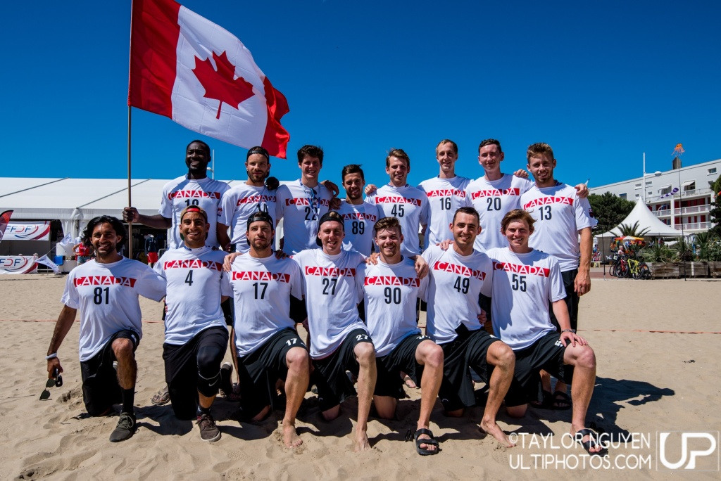 Team picture of Canada Men