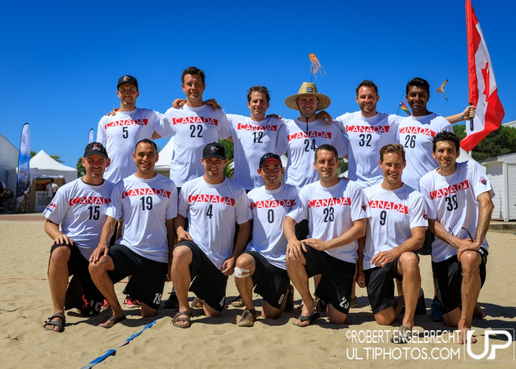 Team picture of Canada Master Men