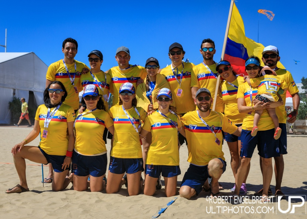 Team picture of Colombia Master Mixed
