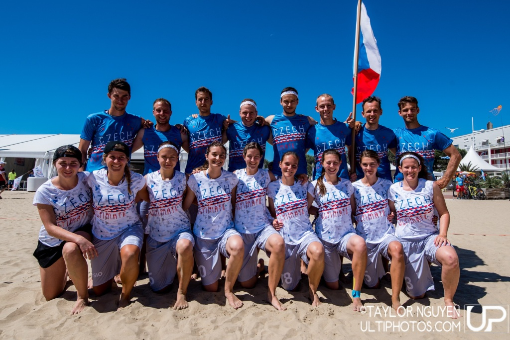 Team picture of Czech Republic Mixed