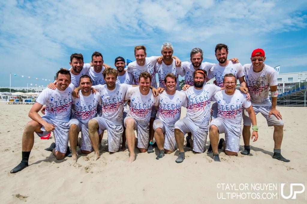 Team picture of Czech Republic Master Men