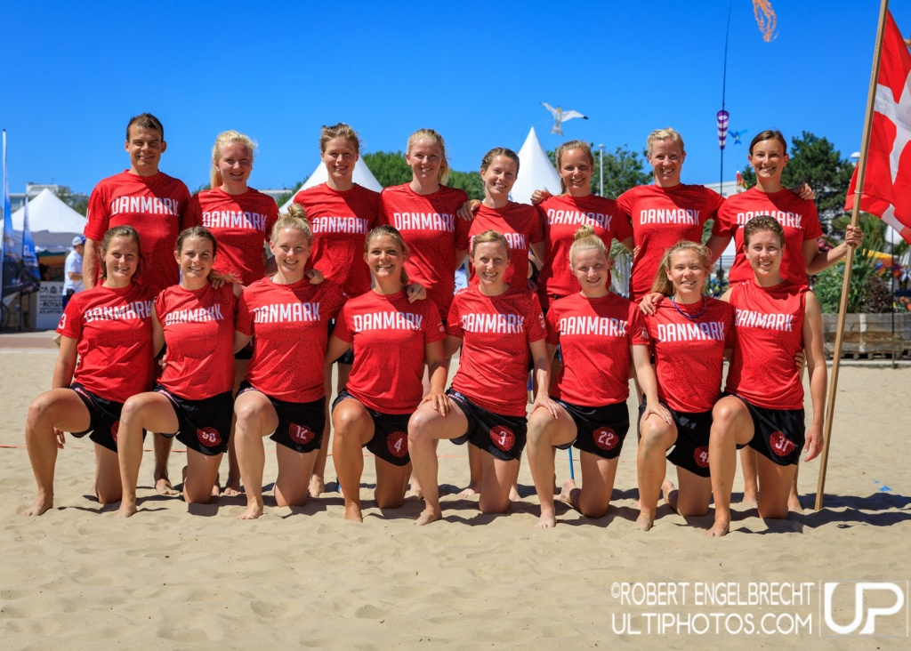 Team picture of Denmark Women