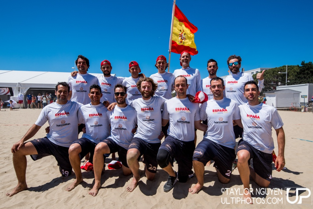 Team picture of Spain Master Men