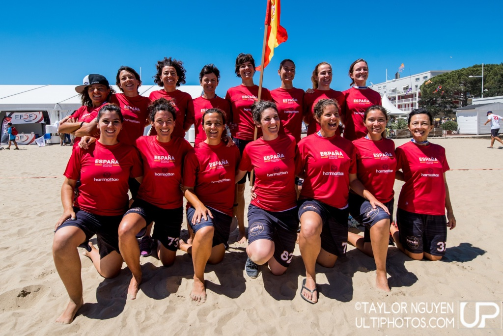 Team picture of Spain Master Women