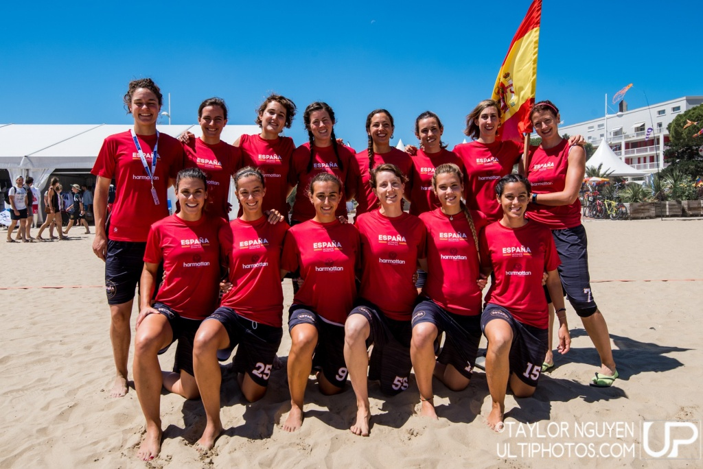 Team picture of Spain Women