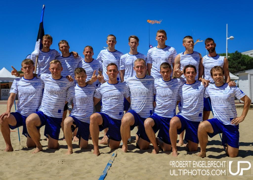 Team picture of Estonia Men