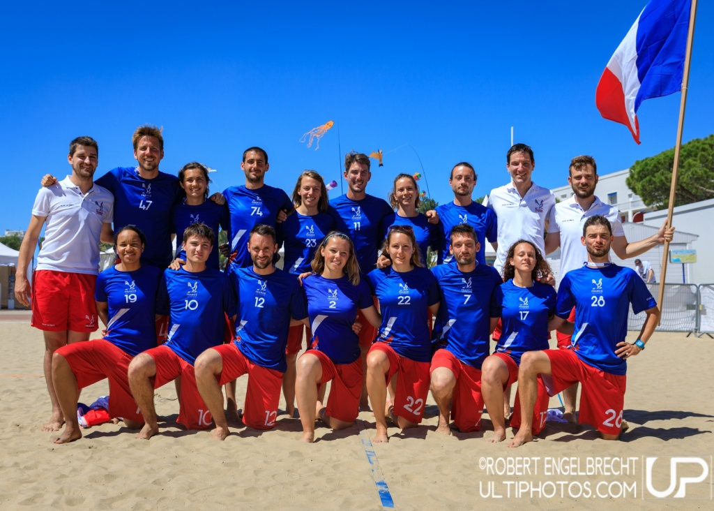 Team picture of France Mixed