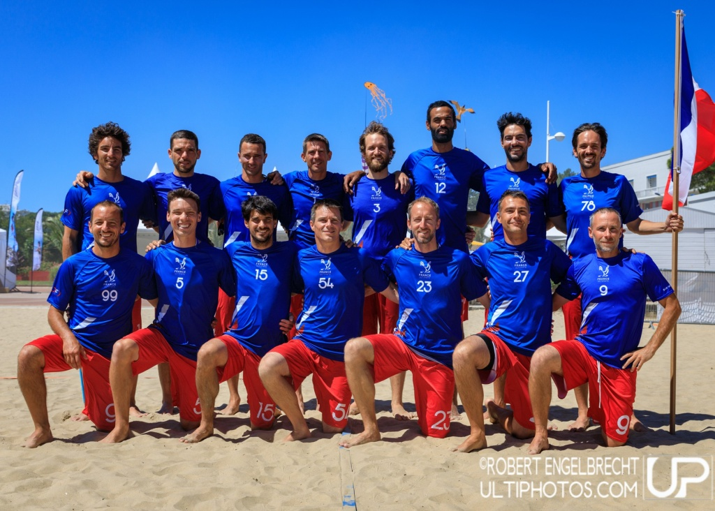 Team picture of France Master Men