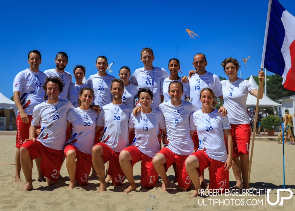 Team picture of France Master Mixed