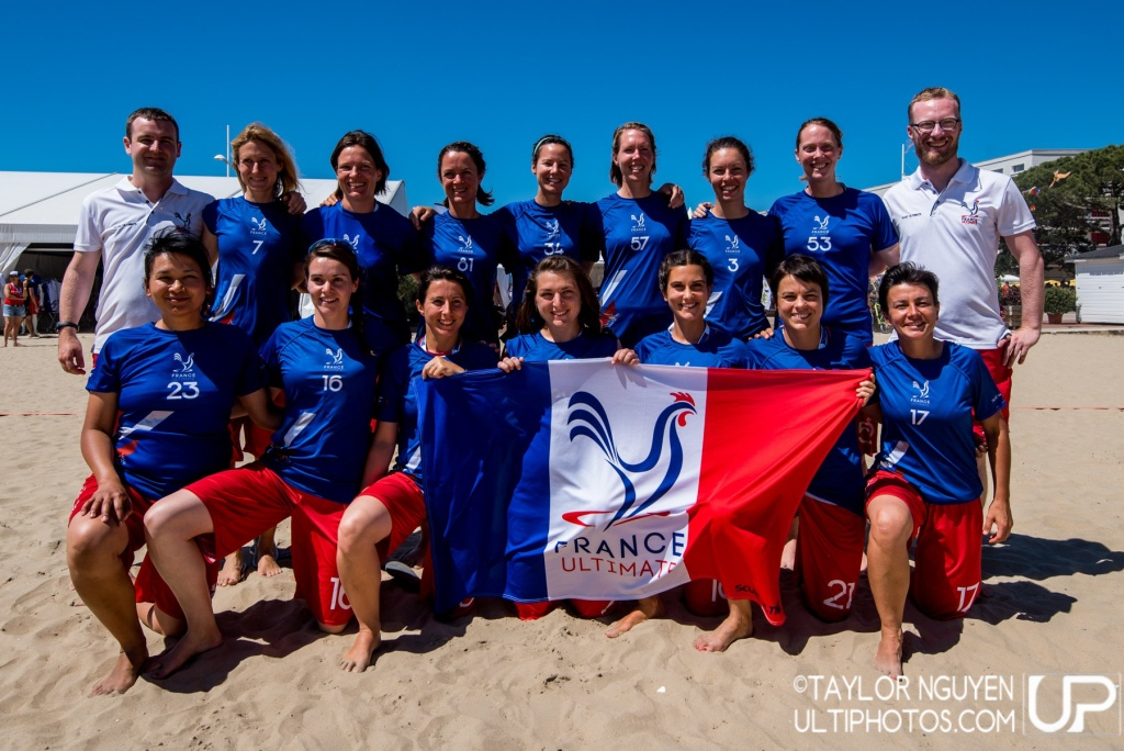 Team picture of France Master Women