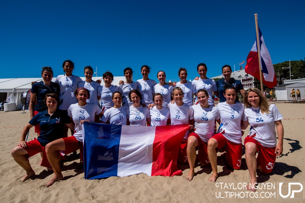 Team picture of France Women