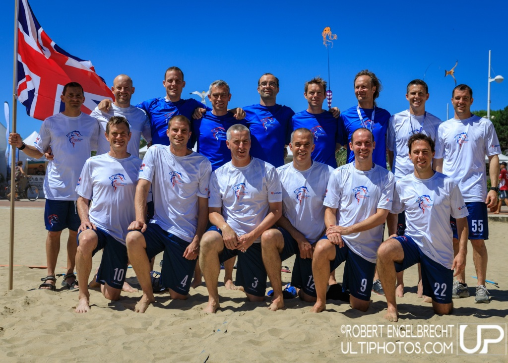 Team picture of Great Britain GrandMaster Men