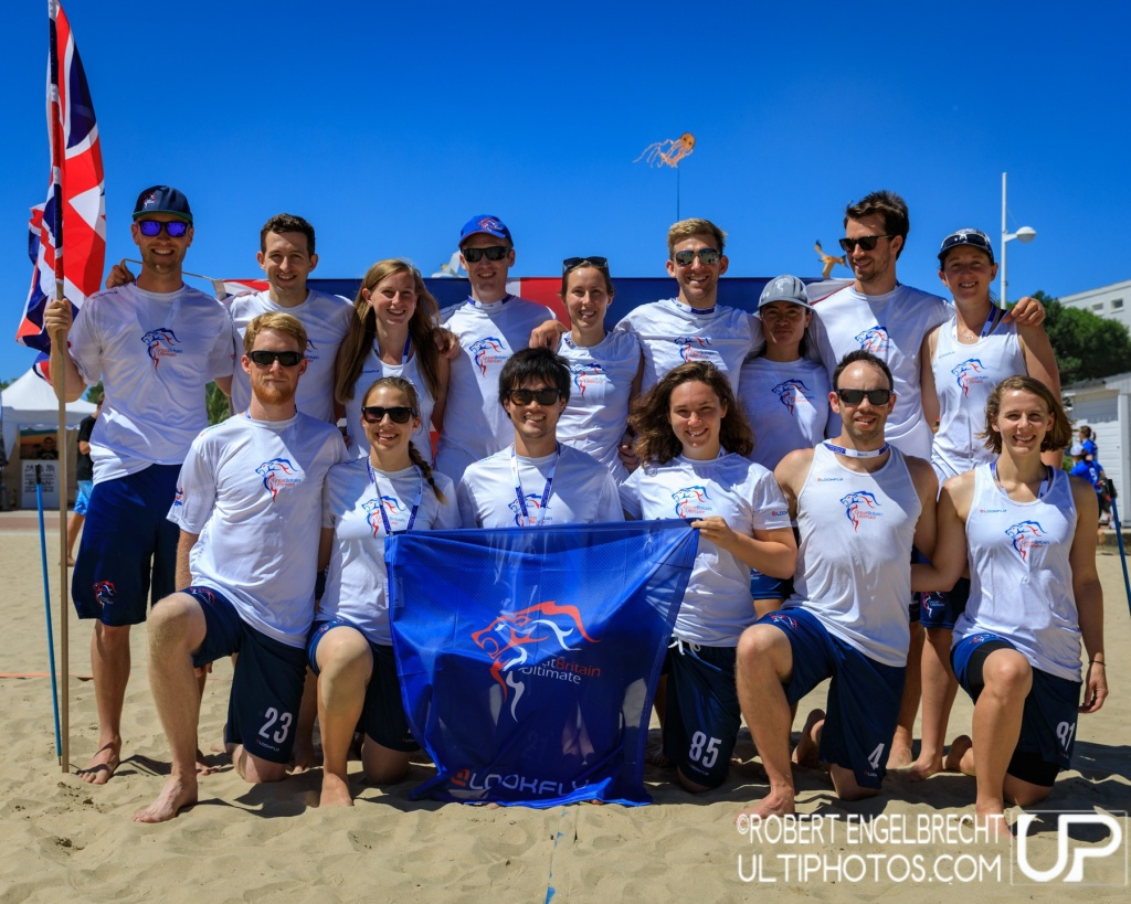 Team picture of Great Britain Mixed