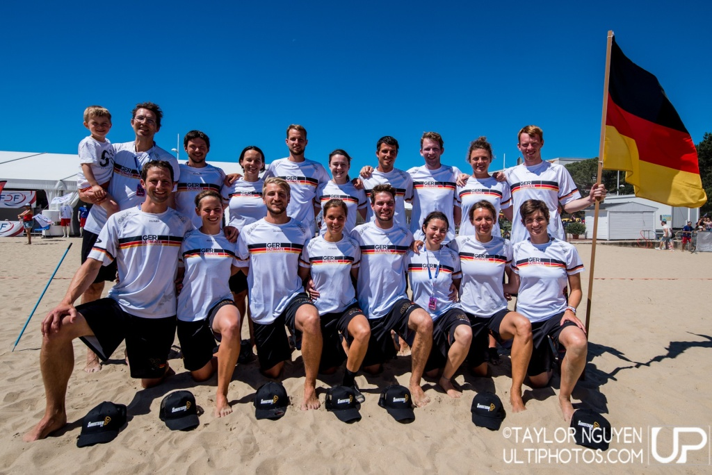 Team picture of Germany Mixed