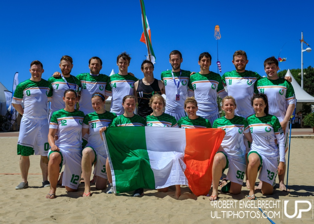 Team picture of Ireland Mixed