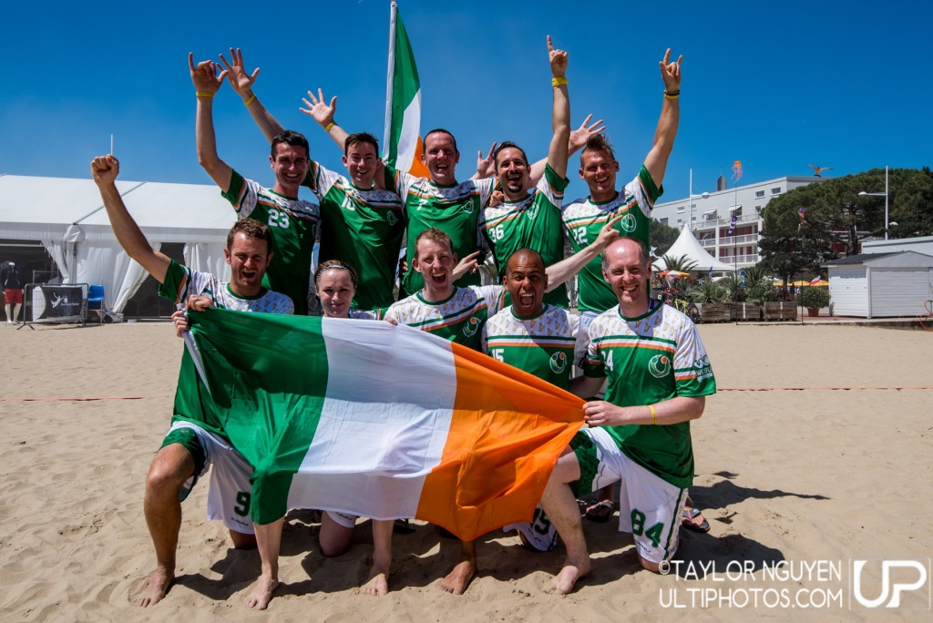 Team picture of Ireland Master Men