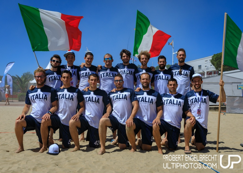 Team picture of Italy Men