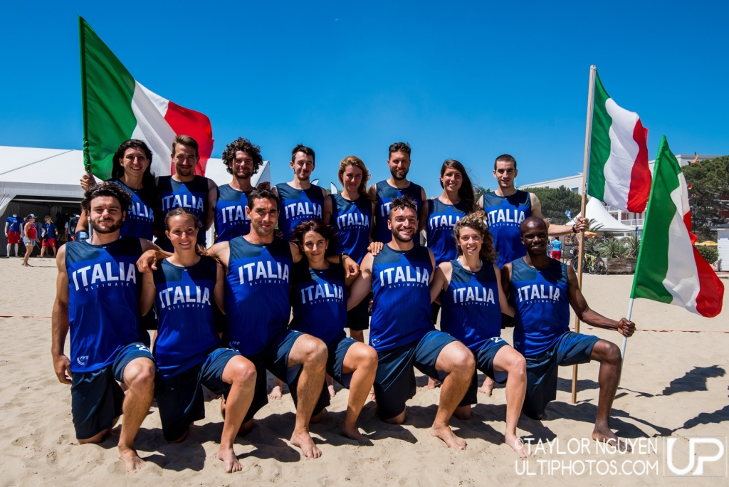 Team picture of Italy Mixed