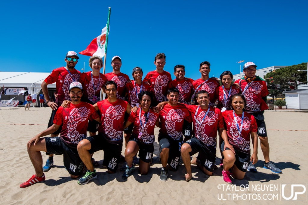 Team picture of Mexico Mixed