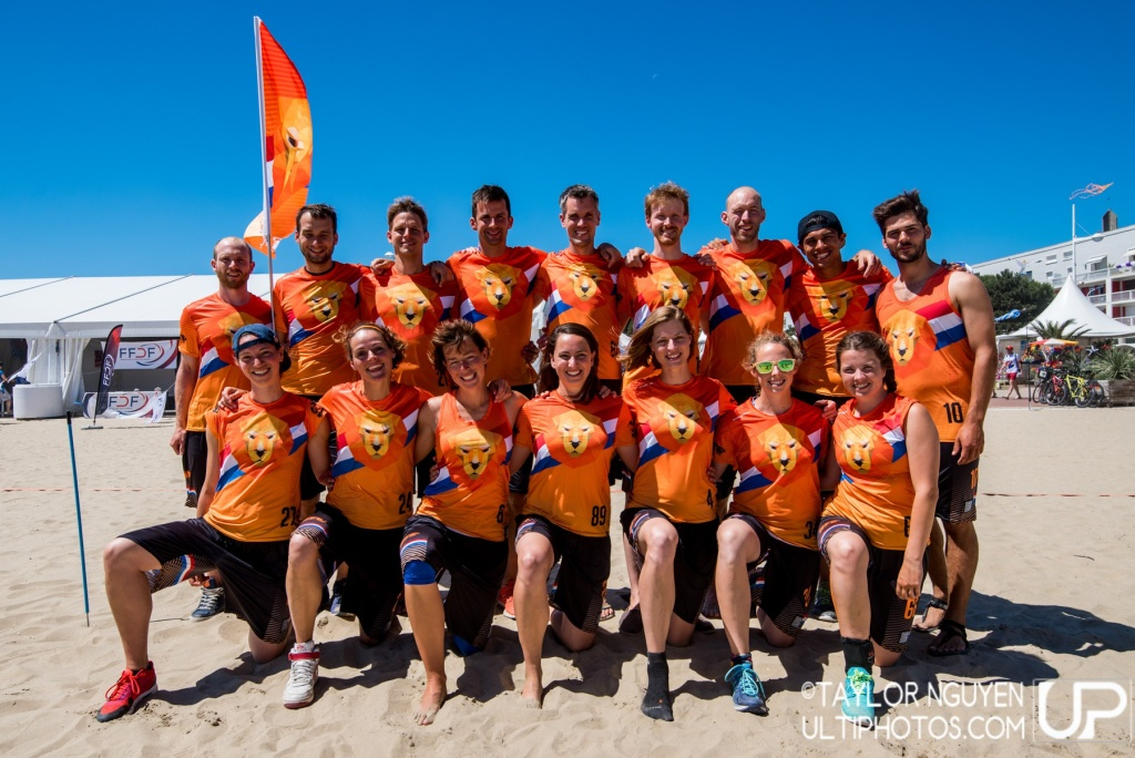 Team picture of Netherlands Mixed