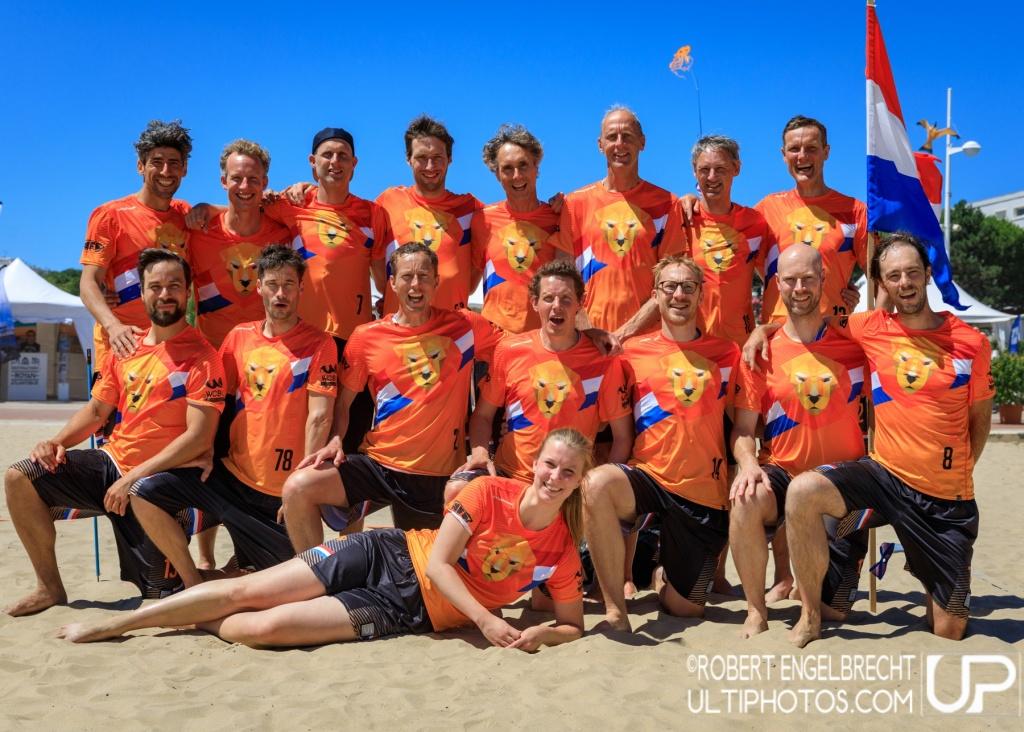 Team picture of Netherlands Master Men