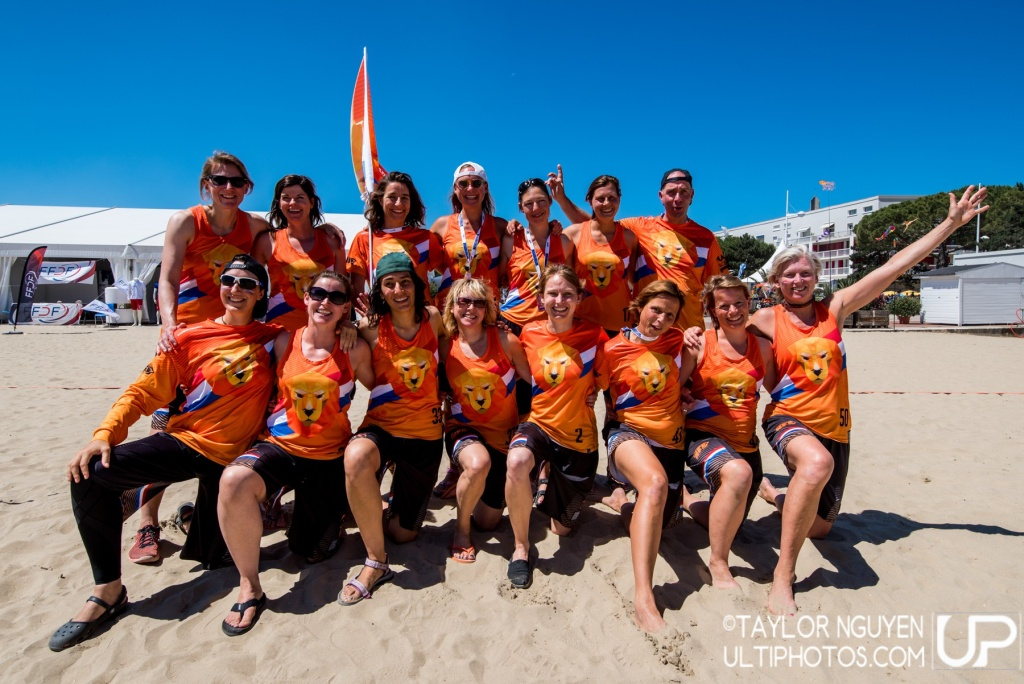 Team picture of Netherlands Master Women