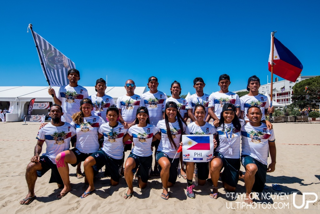 Team picture of Philippines Mixed
