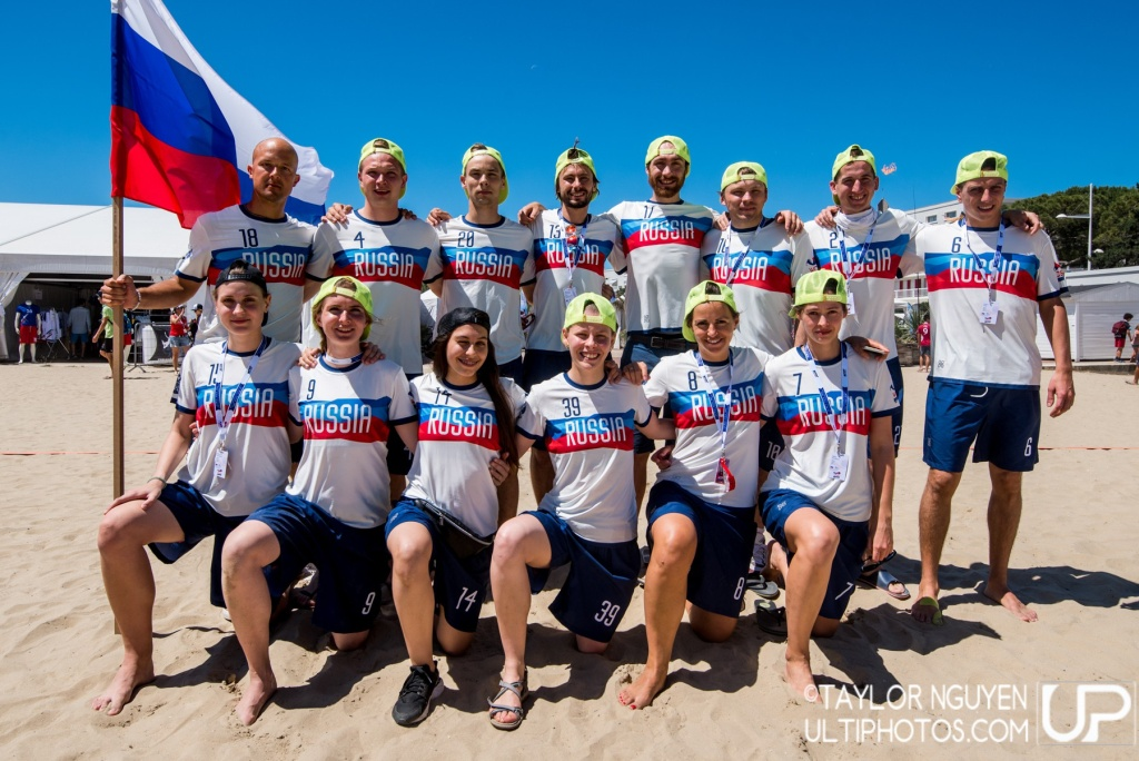 Team picture of Russia Mixed