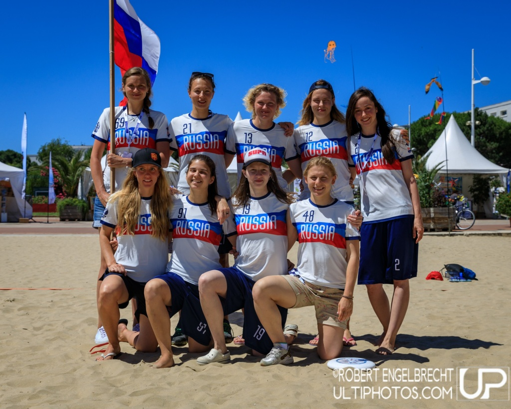 Team picture of Russia Women