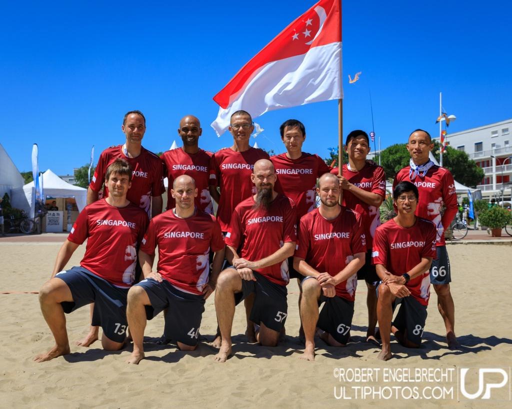 Team picture of Singapore Master Men
