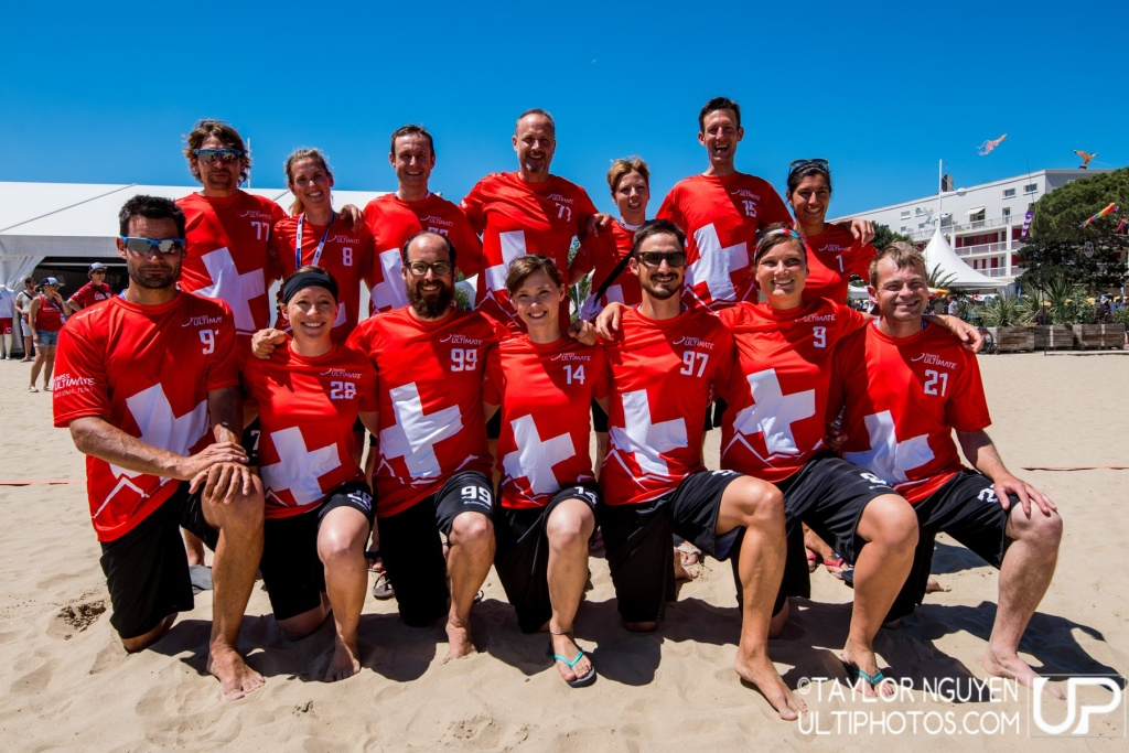 Team picture of Switzerland Master Mixed