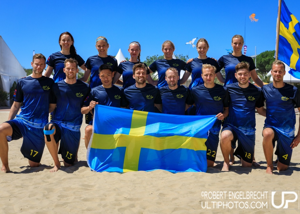Team picture of Sweden Mixed