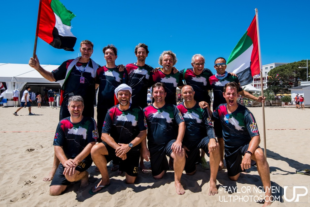 Team picture of United Arab Emirates GrandMaster Men