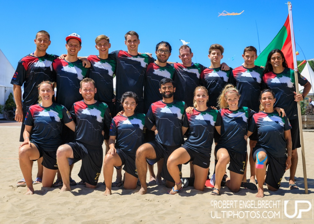 Team picture of United Arab Emirates Mixed