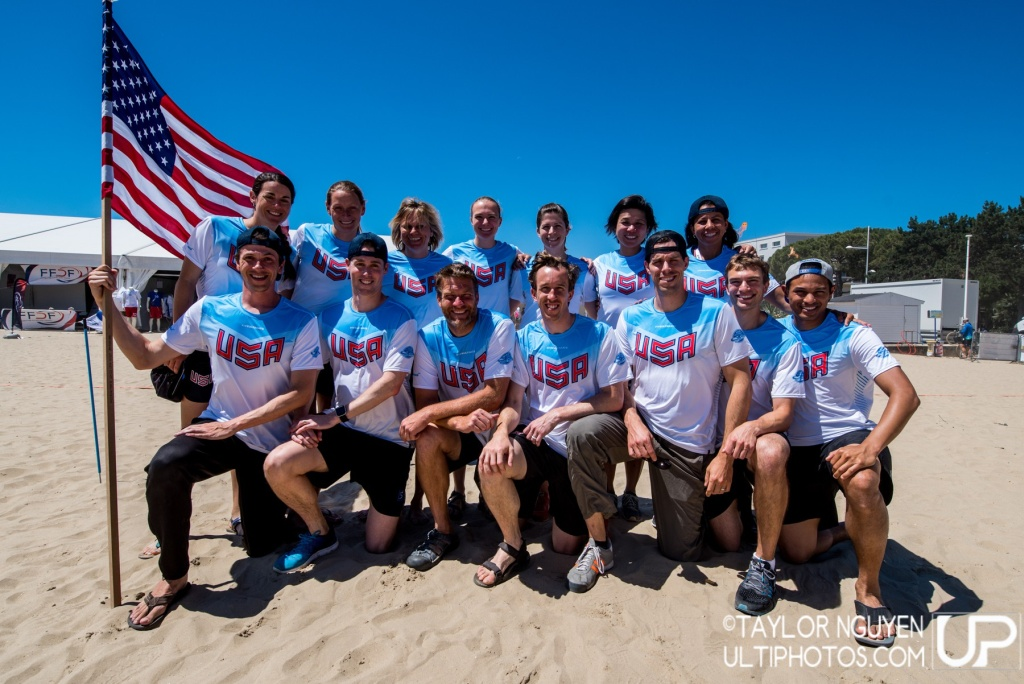 Team picture of United States of America Master Mixed